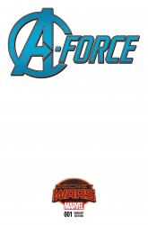Marvel - A-Force #1 SWA Blank Variant