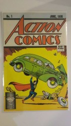 DC - Action Comics # 1 1988 Reprint Direct Edition