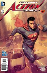 DC - Action Comics (New 52) # 52 Variant