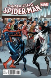 - Amazing Spider-Man # 14 (Spider-Verse) Larroca Welcome Home Variant