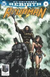 DC - Aquaman # 30 Justice League Movie Variant