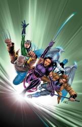 Marvel - Astonishing X-Men (2017) # 7 Cassaday Lenticular Variant