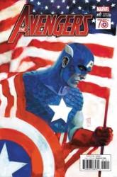 Marvel - Avengers # 1 NOW! 1:50 Captain America 75th Year Variant