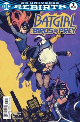 DC - Batgirl And The Birds Of Prey #1 Variant