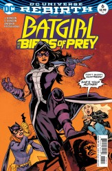 DC - Batgirl and the Birds of Prey # 6