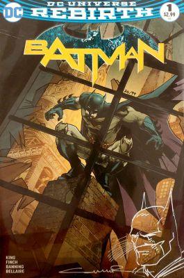 Batman #1 Paralel Evren Retailer Variant Yıldıray Çınar Sketchli 99 Limitli Sertifikalı