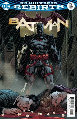 Batman #22 (The Button) Lenticular 3D Cover