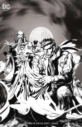 DC - Batman Ras Al Ghul # 1 B&W Variant