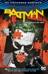 DC - Batman (Rebirth) Vol 4 The War of Jokes and Riddles TPB