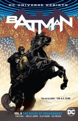 DC - Batman (Rebirth) Vol 5 Rules Of Engagement