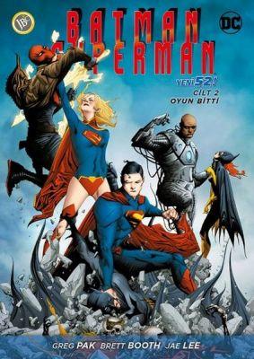 Batman Superman (Yeni 52) Cilt 2 Oyun Bitti