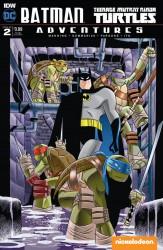 IDW - Batman Teenage Mutant Ninja Turtles Adventures #2 Subscription Variant 1