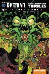 IDW - Batman Teenage Mutant Ninja Turtles Adventures #3