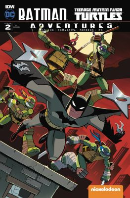 Batman Teenage Mutant Ninja Turtles Adventures # 2 Variant