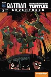 IDW - Batman Teenage Mutant Ninja Turtles Adventures # 3 Variant