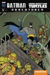 IDW - Batman Teenage Mutant Ninja Turtles Adventures # 1 Variant 2