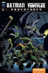 IDW - Batman Teenage Mutant Ninja Turtles Adventures # 1 Variant