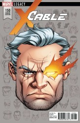 Marvel - Cable # 150 McKone Headshot Variant Leg