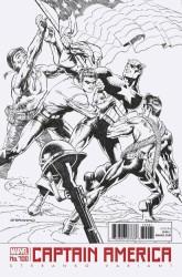Marvel - Captain America # 700 Steranko Black & White Variant