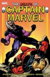 Marvel - Captain Marvel Death of Captain Marvel TPB