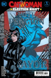 DC - Catwoman Election Night #1 Variant