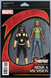 Marvel - Champions #1 Action Figure Variant