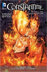 DC - Constantine (New 52) Vol 3 The Voice In The Fire TPB