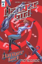 IDW - Danger Girl # 4 J. Scott Campbell Cover