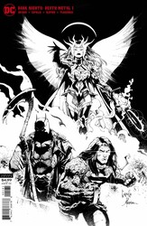 DC - Dark Nights Death Metal # 1 Midnight Party Variant