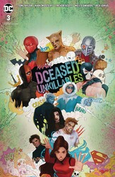 DC - Dceased Unkillables # 3 Horror Variant