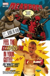 Marvel - Deadpool # 1 Variant