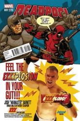 Marvel - Deadpool # 1 Variant