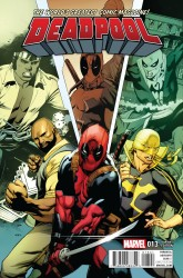 Marvel - Deadpool # 13 Stevens Power Man and Iron Fist Variant