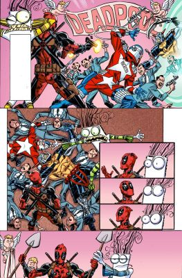 Deadpool # 15 Secret Comic Variant