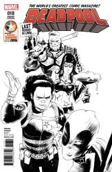 Marvel - Deadpool # 18 Retailer Summit 2016 Variant