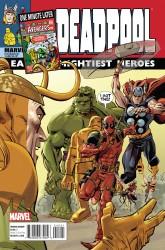 Marvel - Deadpool # 45 Avengers Variant