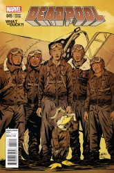 Marvel - Deadpool # 45 Green Wtd Variant