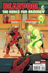 Marvel - Deadpool & The Mercs For Money (2. Seri) # 2