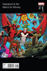 Marvel - Deadpool & The Mercs For Money # 1 (2016 - 2. Series) Nakayama Hip Hop Variant