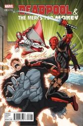 Marvel - Deadpool & The Merc For Money (1. Seri) # 3 Lim Variant