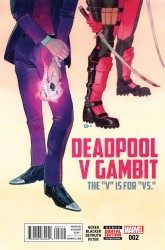 Marvel - Deadpool V Gambit # 2