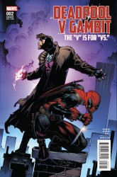 Marvel - Deadpool V Gambit #2 Stroman Variant