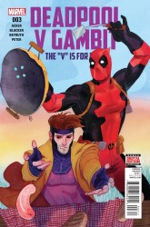 Marvel - Deadpool V Gambit # 3