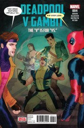Marvel - Deadpool V Gambit # 4