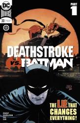 DC - Deathstroke # 30 Deathstroke vs Batman