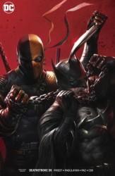 DC - Deathstroke # 35 Deathstroke vs Batman Mattina Variant