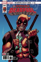 Marvel - Despicable Deadpool # 287 Leg