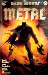 DC - DF Dark Nights Metal # 1 Variant Limitli Scott Snyder İmzalı Sertifikalı