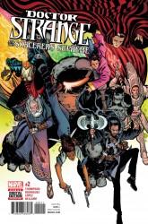 Marvel - Doctor Strange and the Sorcerers Supreme # 2