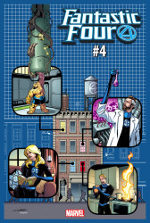 Marvel - Fantastic Four # 4 1:4 Yancy Street Variant